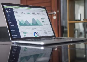 Content Audit on Laptop